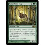 Great Sable Stag [M10]