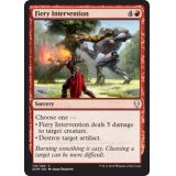 Fiery Intervention FOIL [DOM]